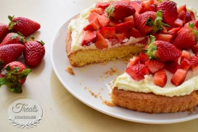 Sablé Breton with Strawberries