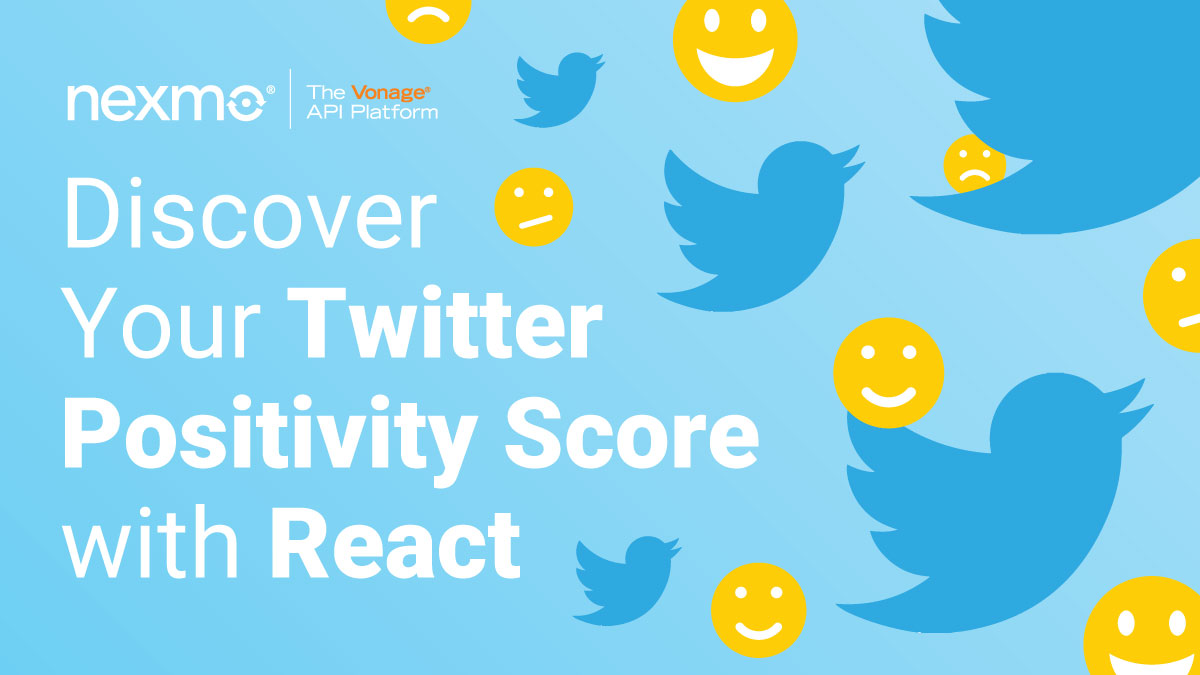 Discover Your Twitter's Positivity Score with React