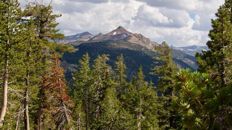 Stanislaus Peak and Sonora Peak