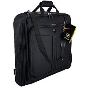 ZEGUR 40-Inch 3 Suit Carry On Garment Bag for Travel