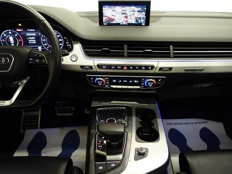 Audi Q7 3.0 TDI (SQ7) 300PK Quattro S-Line 7pers Autom- Pano, Virtual Cockpit, Bose, Head-up, Full! afbeelding 7