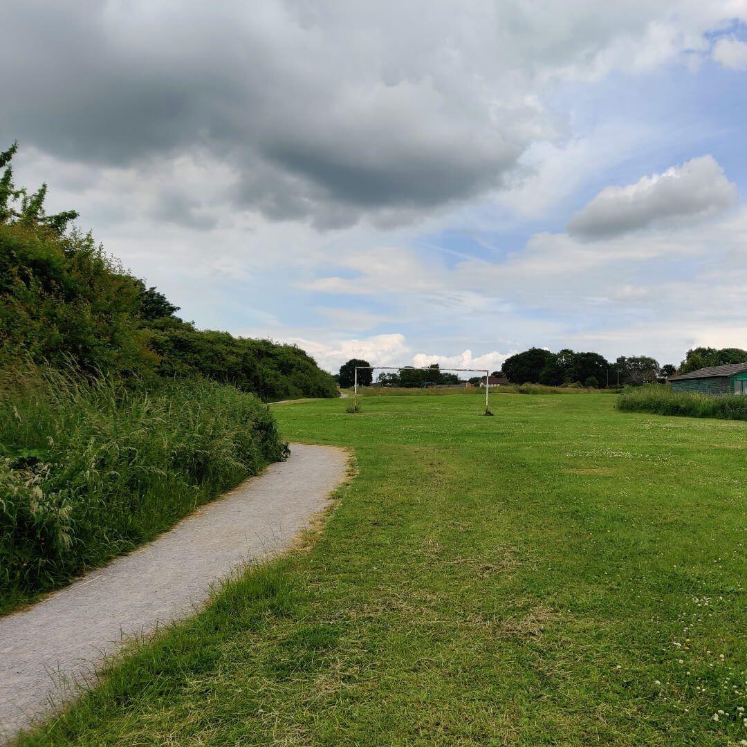 Hawksworth Wood football pitch