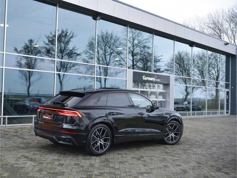 Audi Q8 50TDI 286pk Quattro S-Line Black Optic Lucht RS-zetels B&O High-end Alcant.Hemel TV Head-Up Standk ALLE OPTIES! afbeelding 21