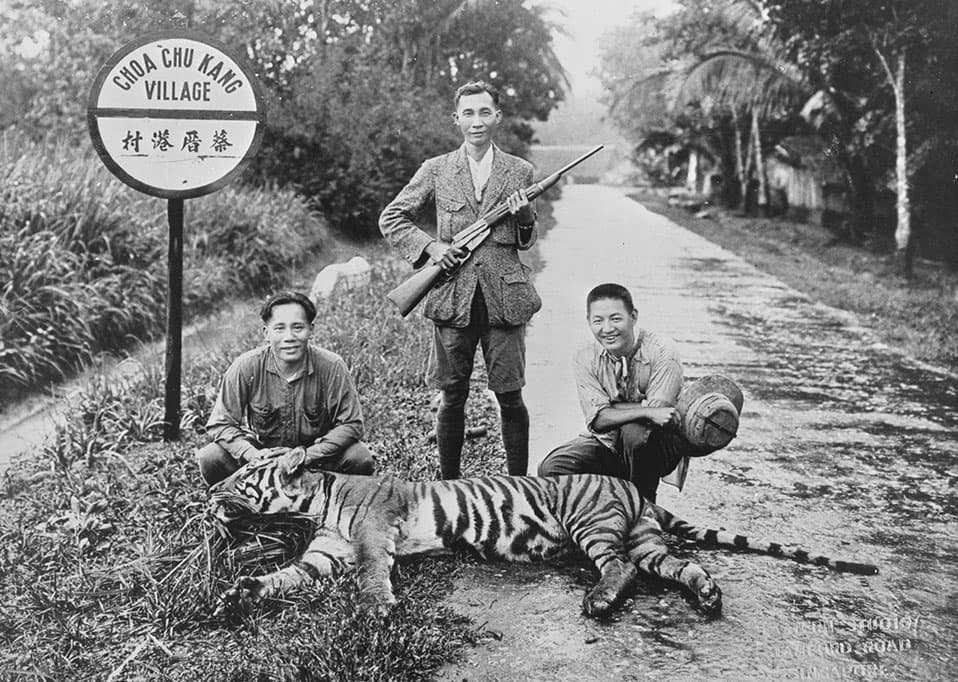 Hunting party, 1930