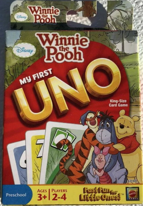 Winnie-the-Pooh My First Uno