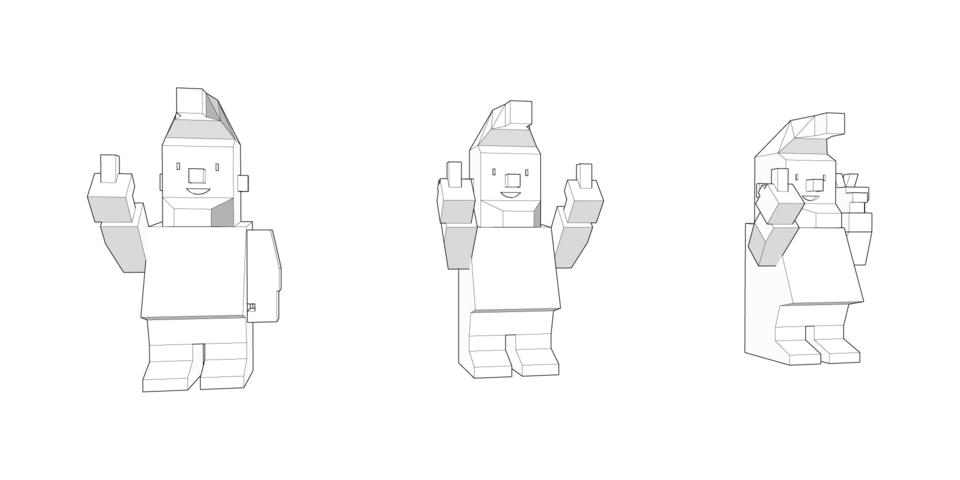 Brandhome gnome, character design