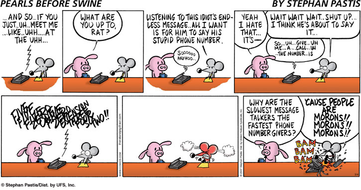 Pearls Before Swine Voicemail