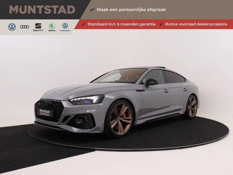 Audi RS5 Sportback 2.9 TFSI quattro | 450PK | Panoramadak | Stoelventilatie/verwarming | Bang & Olufsen | Top view camera | Matrix LED Laser | RS Sportuitlaat | 20'' inch brons | Verlengde fabrieksgarantie afbeelding 1