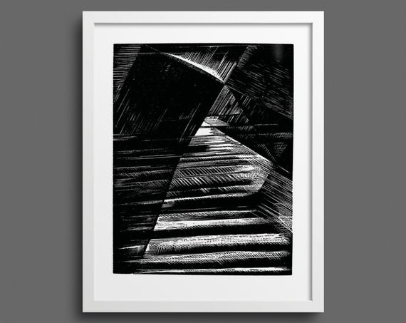 Let there be light - and there was light Bible print