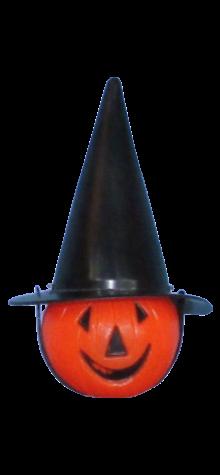 Pumpkin w/ Witch Hat photo
