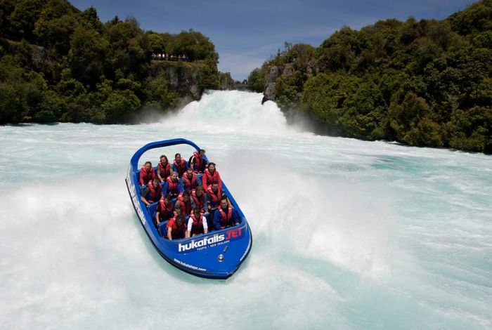 Jet Boating Huka Falls