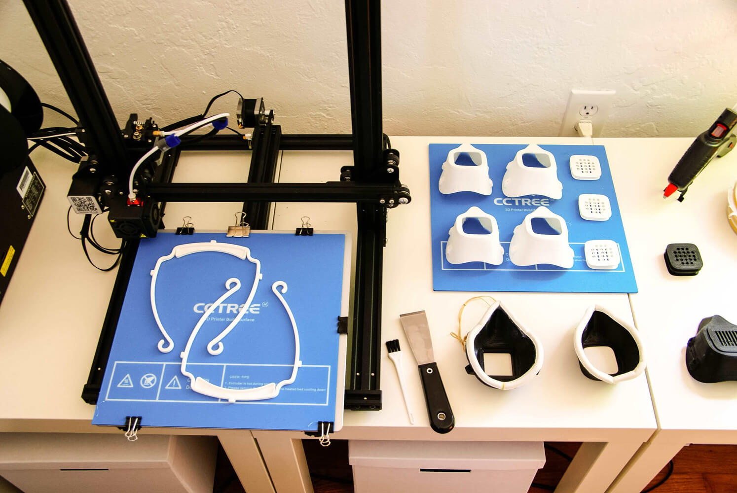 Contribution from MAPS, an organization with 3D printing capabilities located in Portland, Oregon
