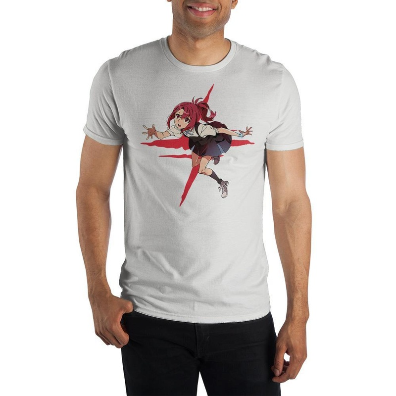 Kiznaiver White T-Shirt