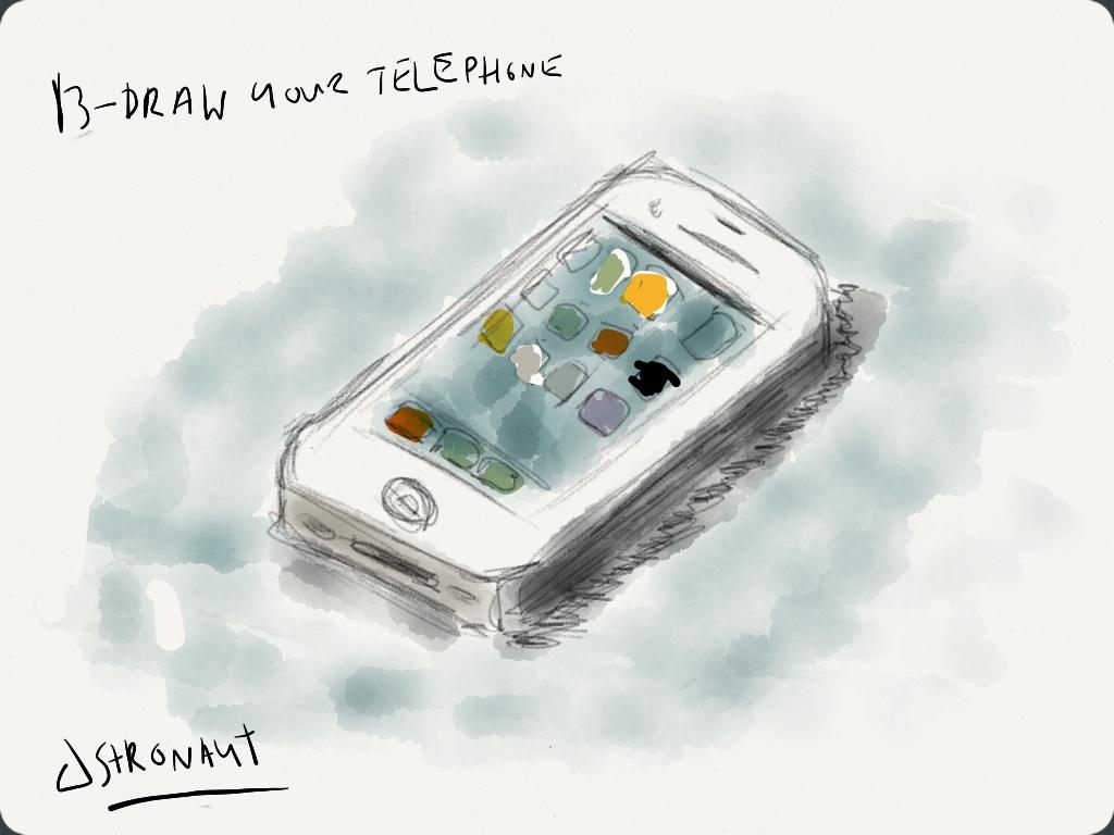 EDM #13 Draw Your Telephone