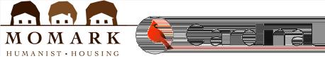 Momark Development and Cardinal logos (developing Kyle, TX)