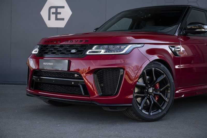 Land Rover Range Rover Sport SVR 5.0 V8 SC Meridian Reference Audio + Head Up + 360 Camera + Gekoelde/Verwarmde voorstoelen + Verwarmde  Achterbank + Carbon Motorkap Met Luchthappers + Ambianceverlichting afbeelding 3