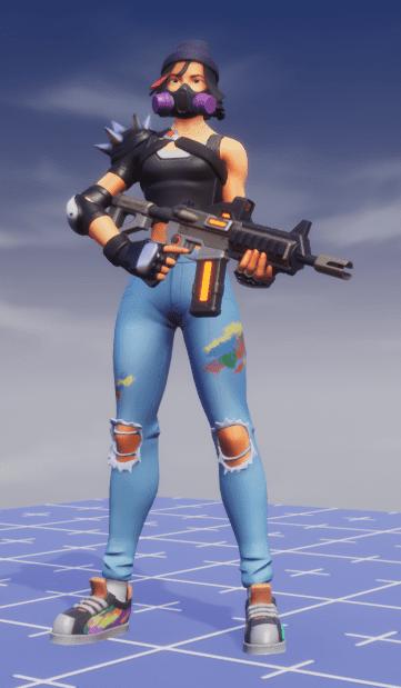 A Sniper Rifle