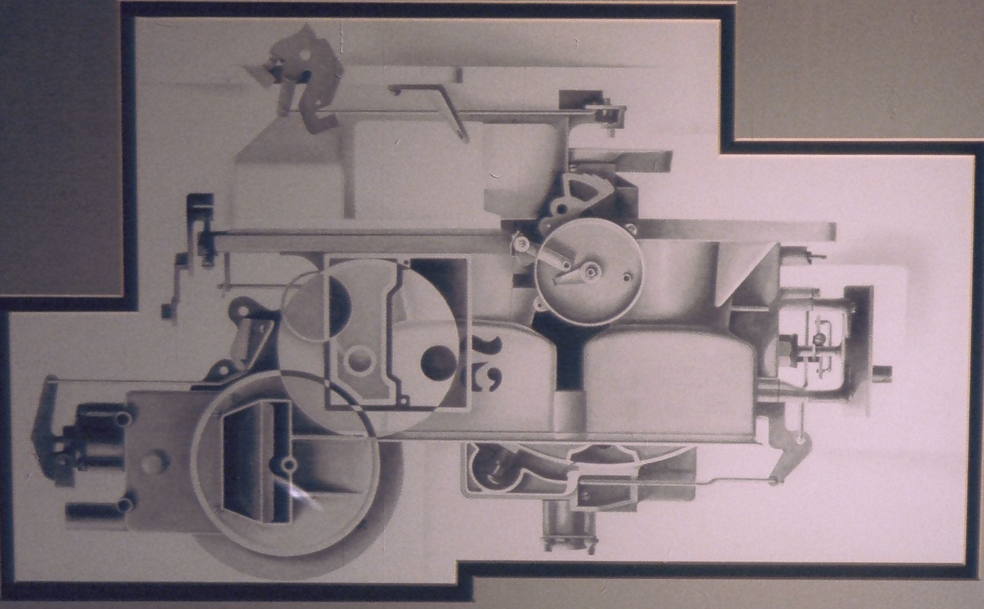 mechanical things drawn in pencil