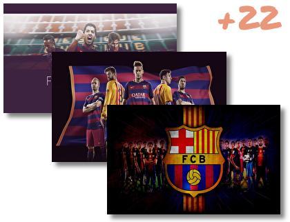 Futbol Club Barcelona theme pack
