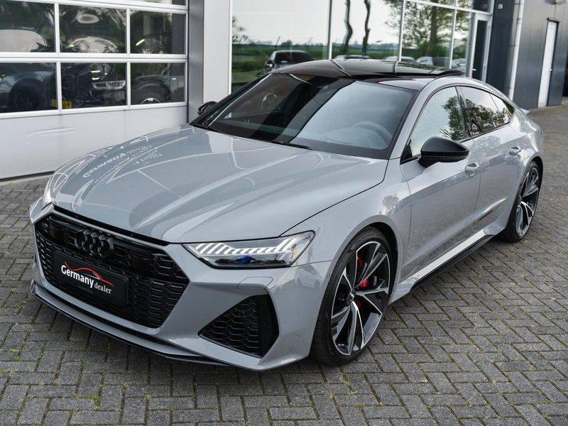 Audi RS7 Sportback 4.0TFSI 600pk Quattro Black Optic Laser-Led Softclose Head-Up Leder-dash RS-Zetels 22-Inch 360Camera afbeelding 3