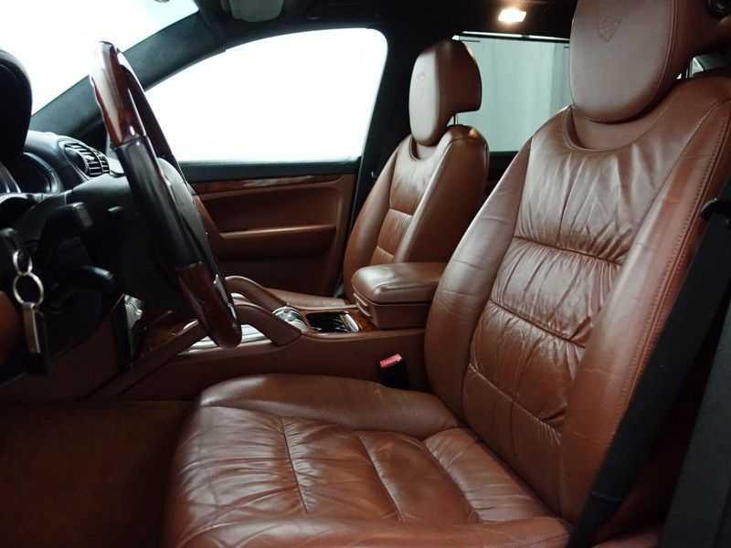 Porsche Cayenne 4.8 Turbo 500pk Autom, Schuifdak, Leer, Bose, Xenon, Memory, Full! afbeelding 11