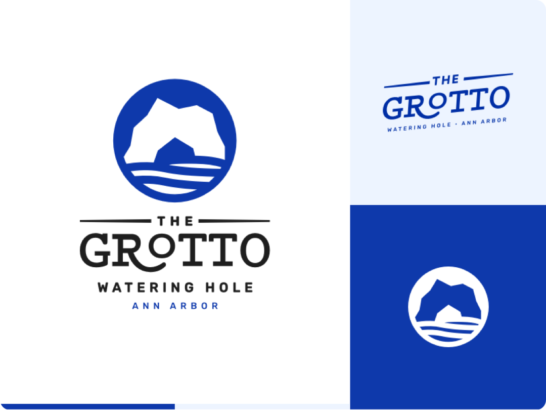 The Grotto Branding