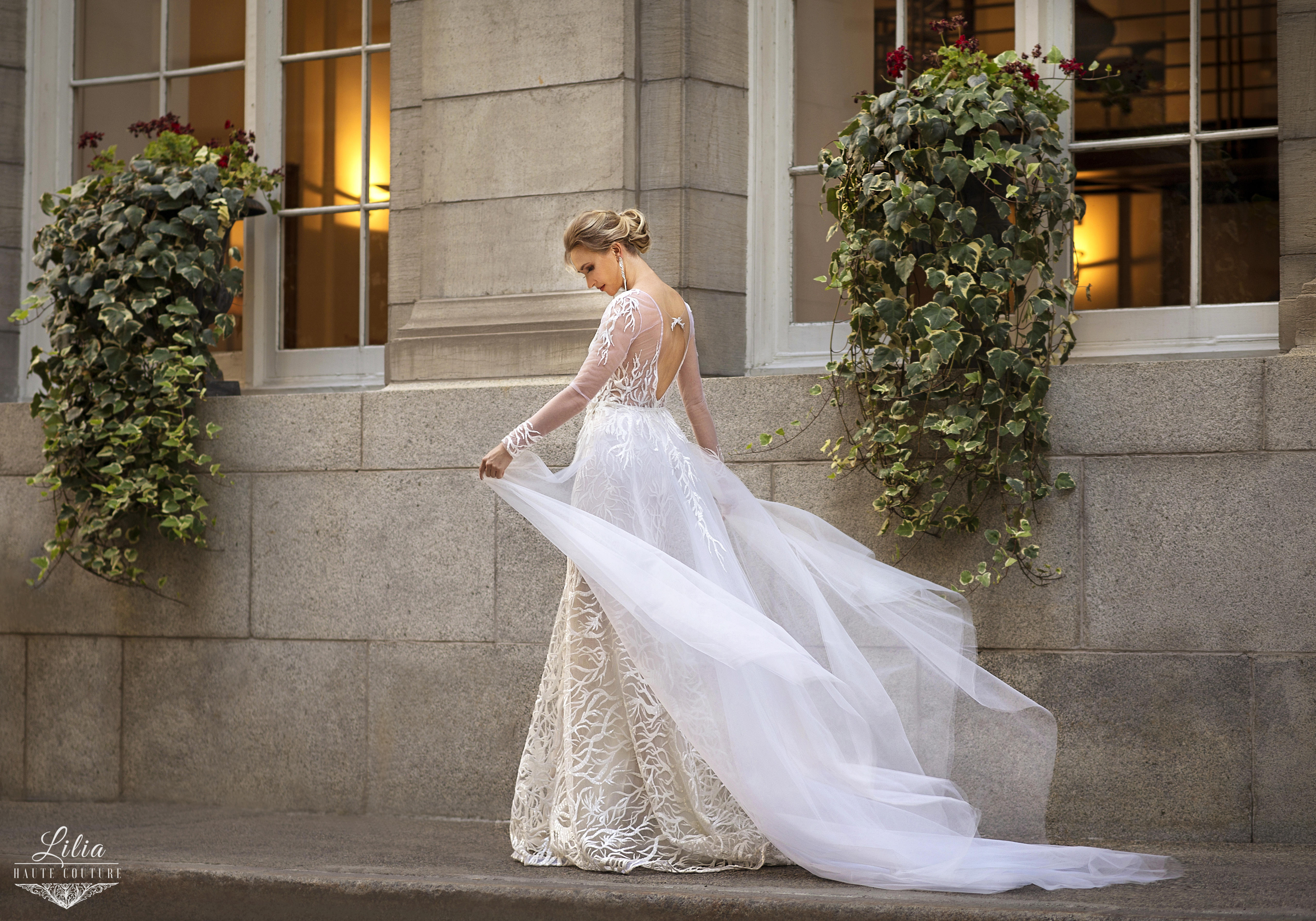 best montreal bridal boutique lilia haute couture custom made dresses