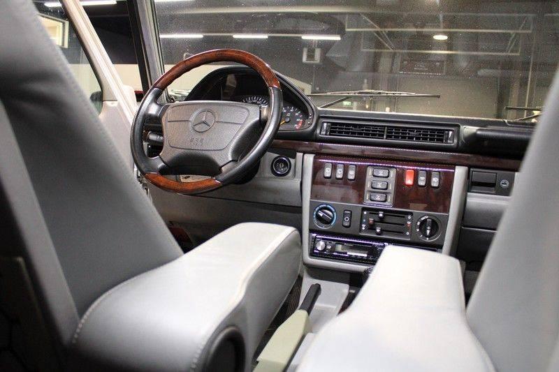 Mercedes-Benz G-Klasse 500 fabrieks 55-uitgev. Youngtimer aut. 7-zits afbeelding 5