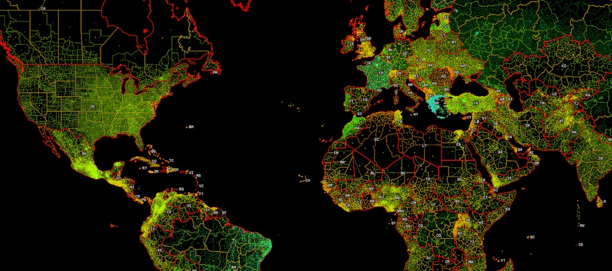 Mapbox boundaries
