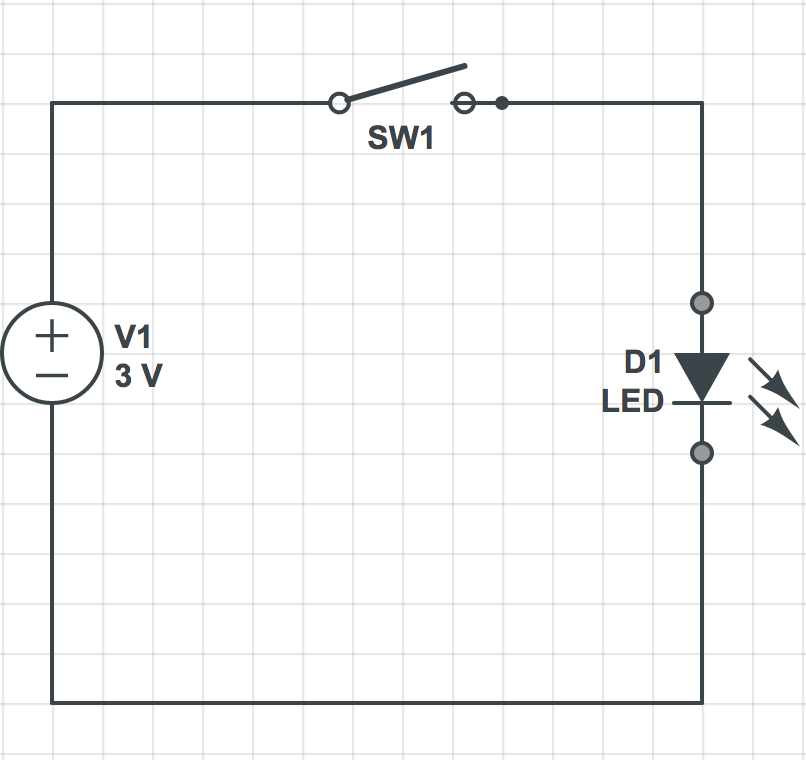 Our first circuit