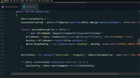 Create a custom RequireJS config file