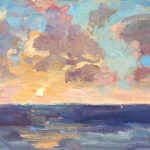Pacific Sunset 6x8