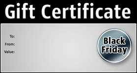 Gift Certificate Template Black Friday 01