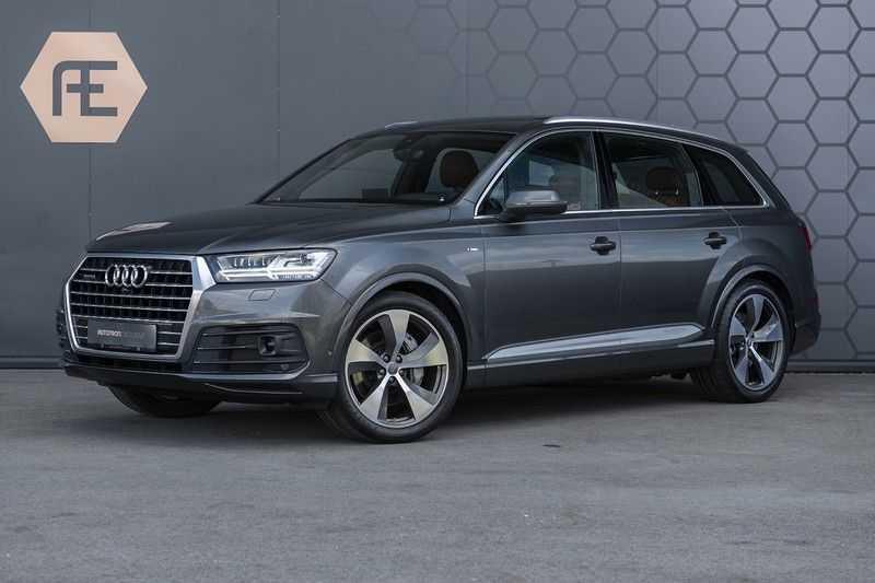 Audi Q7 3.0 TFSI quattro Pro Line + 7p S Line Bang&Olufsen + DAB+ + Zwart Suede hemelbekleing + 360 Camera + Elek. Trekhaak + Panorama dak