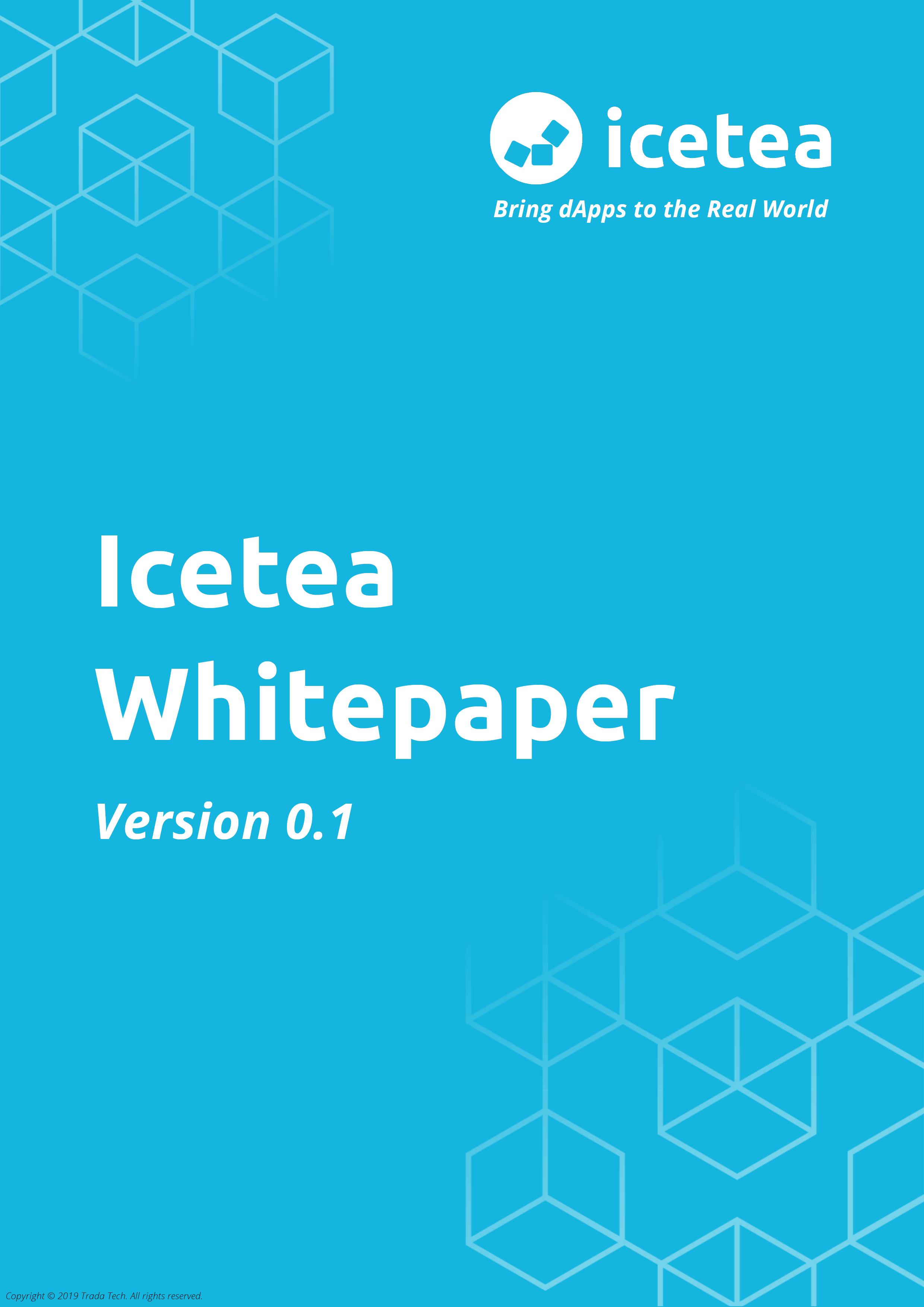 Icetea Whitepaper