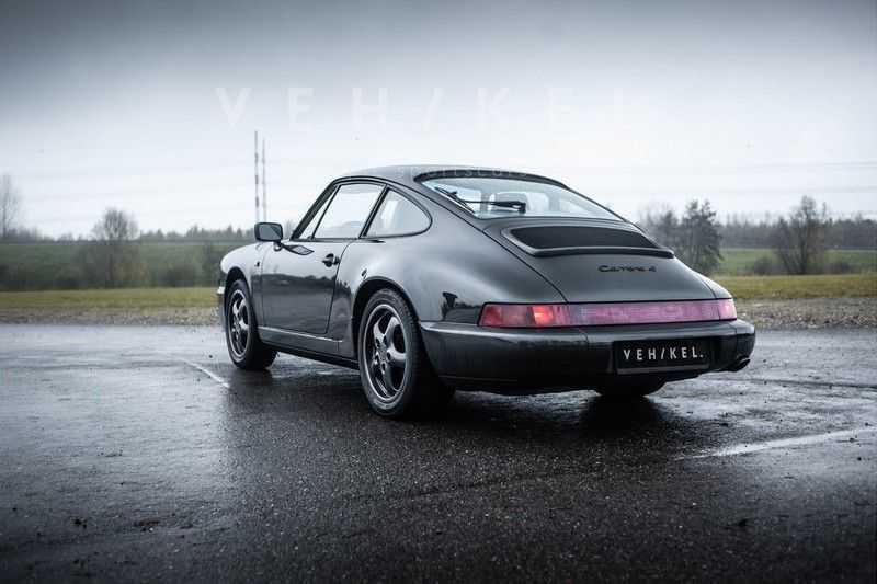 Porsche 911 964 3.6 Carrera 4 Coupé // Schiefergrau afbeelding 11