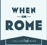 When in Rome Wine Logo