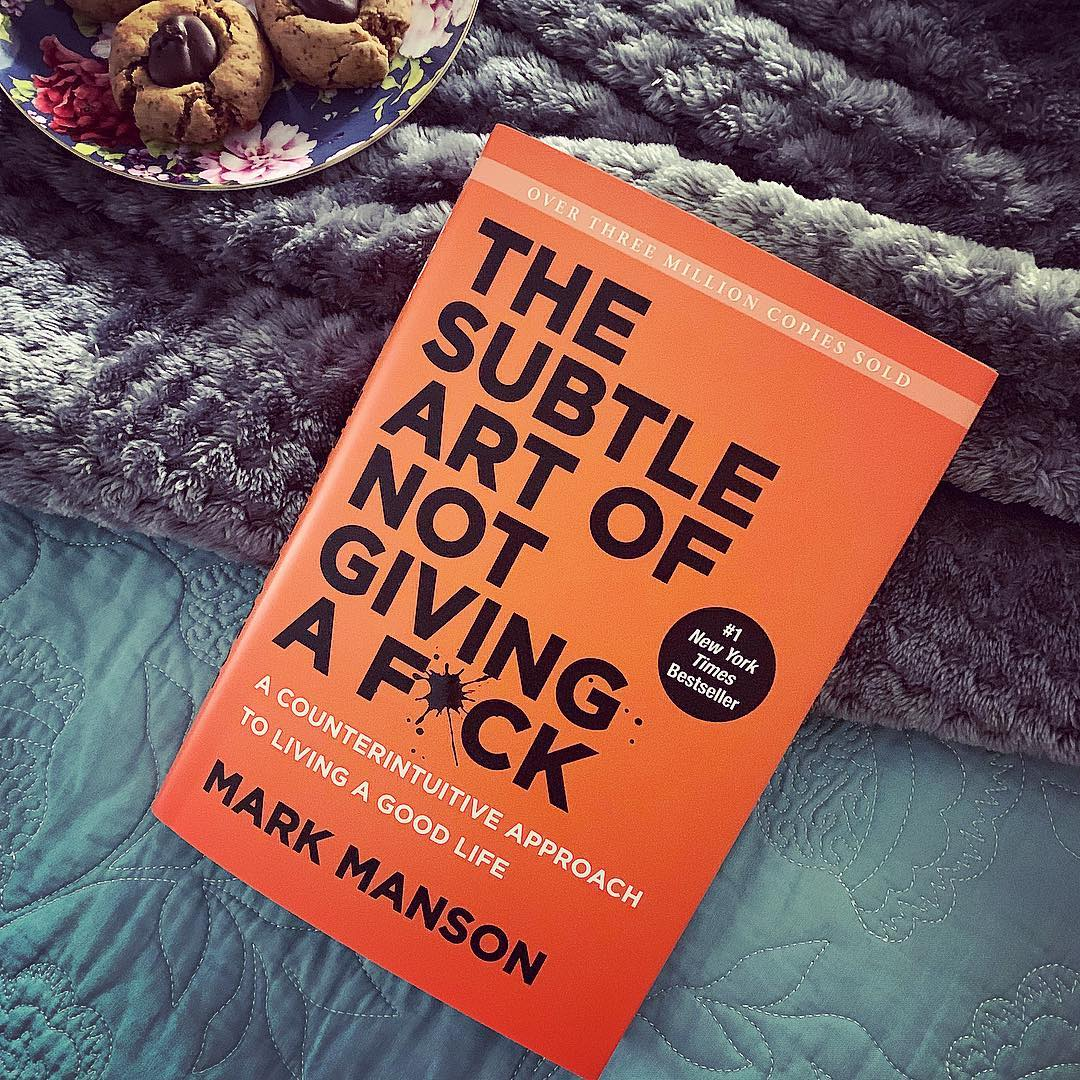 Photo of book: The Subtle Art of Not Giving a F*ck