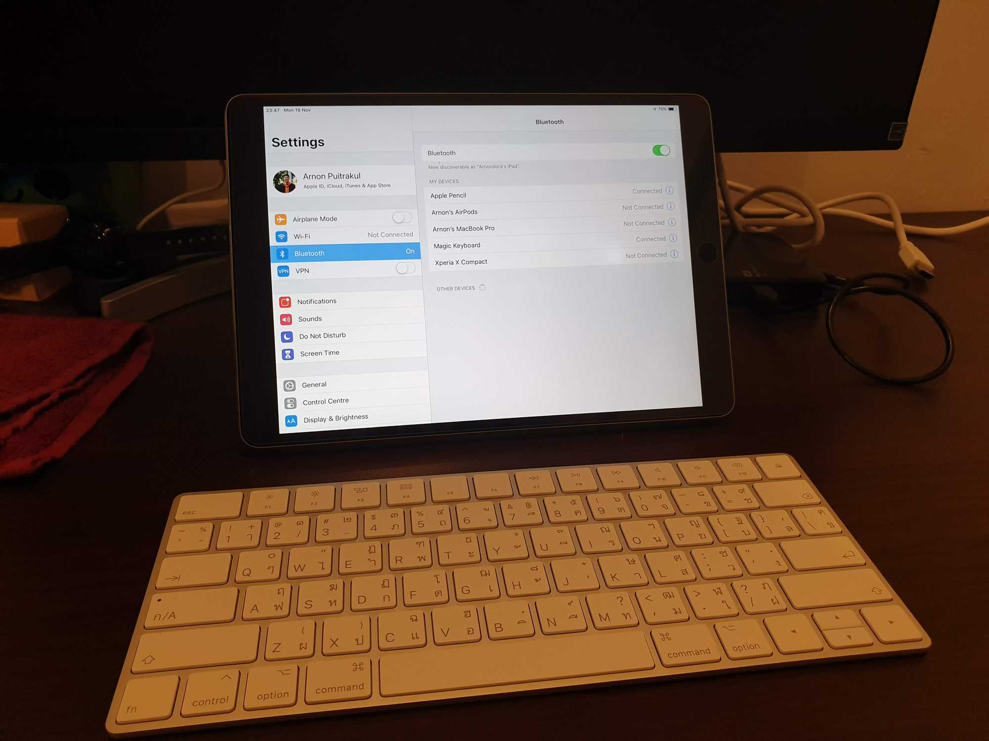 Apple Smart Keyboard with iPad Pro 10.5 inch