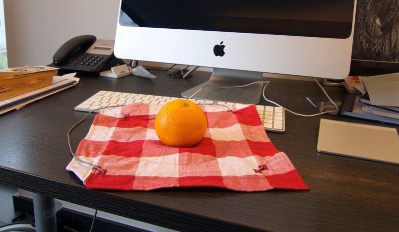 Little Bindle opened on desk