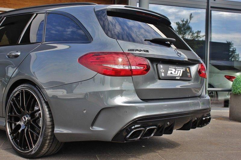 Mercedes-Benz C-Klasse C63 AMG 4.0 V8 Estate 476pk! **360°Camera/Burmester/Spoorassistent** afbeelding 6