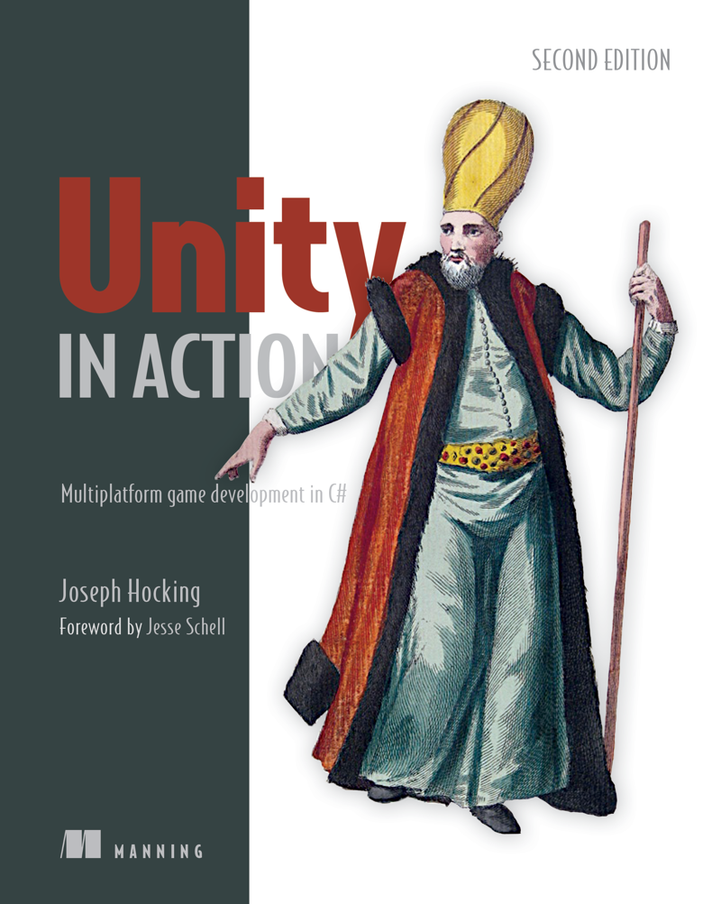 Unity in Action Book Cover