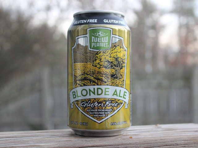 Blonde Ale, a Blone Ale brewed by New Planet Beer Company