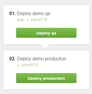 Deployinator default enviroment