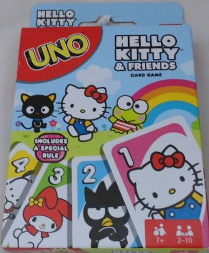 Hello Kitty & Friends Uno