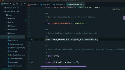 Create an admin controller