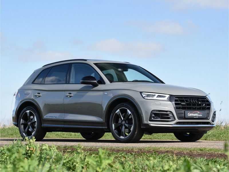 Audi Q5 2.0TFSI 252pk Quattro Black Optic Alle Opties! Lucht Tr.Haak Ruitleder Carbon Matrix Pano 20-Inch afbeelding 8