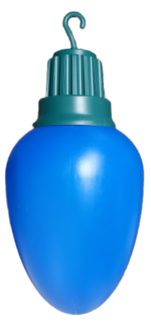 Blue Light Bulb photo