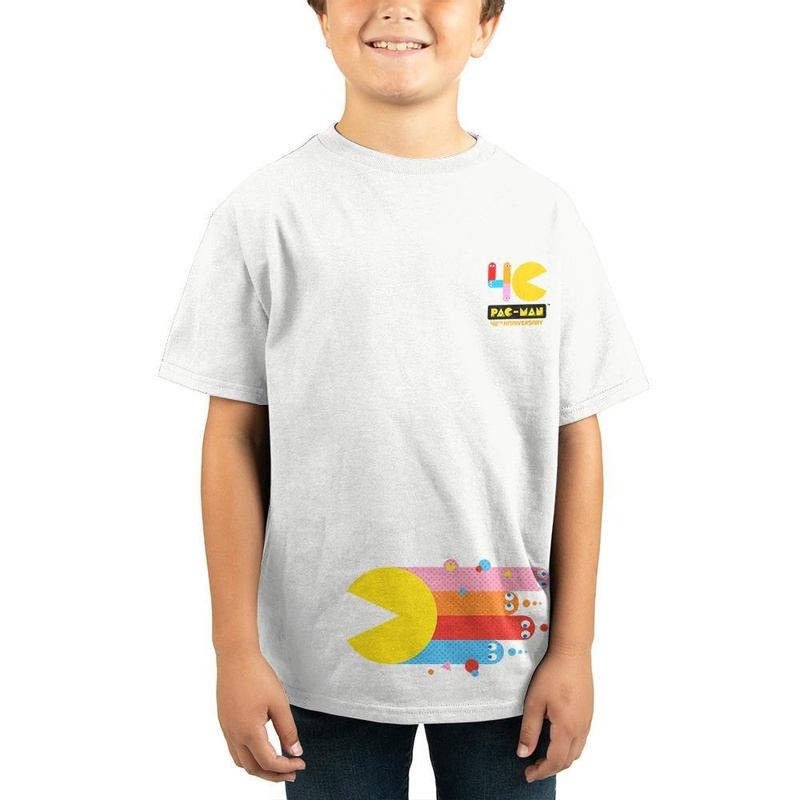 Pac-Man Children White T-Shirt Wear