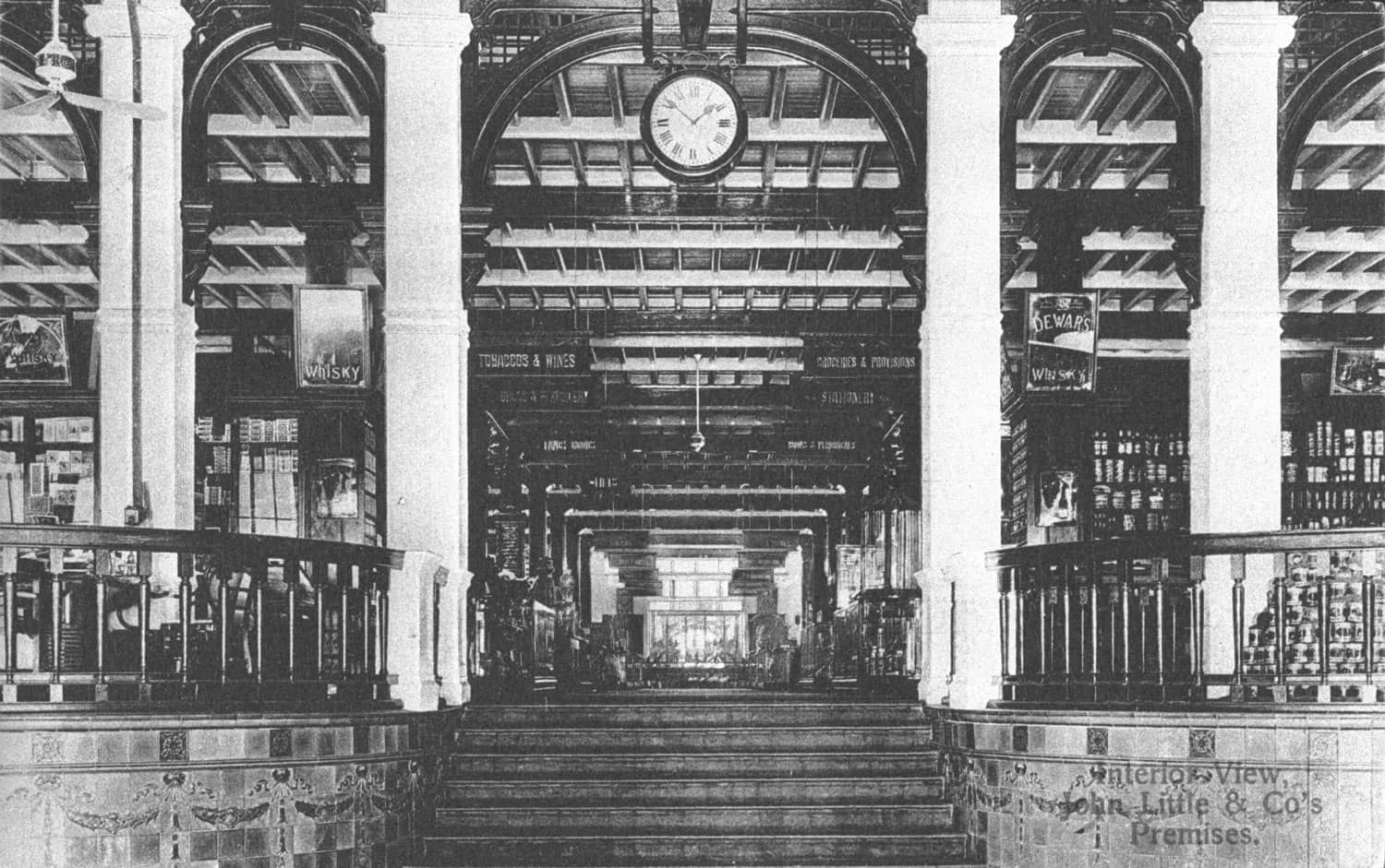 Interior of John Little, c.1910s